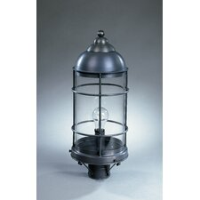 "Nautical 1 Light 8.25"" Post Lantern"