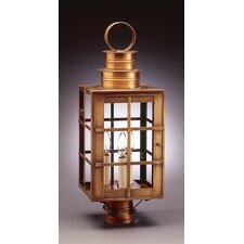 "Suffolk 1 Light 23"" Chimney Can Top H-Bars Post Lantern"