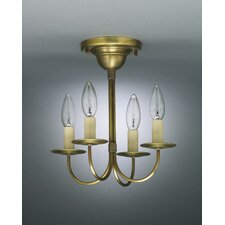 <strong>Northeast Lantern</strong> 4 Light Candelabra Chandelier