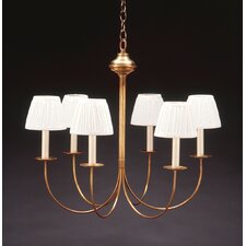 <strong>Northeast Lantern</strong> 6 Light Candelabra Chandelier