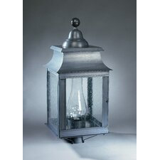 Concord 1 Light Chimney Pagoda Post Lantern