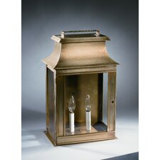 Concord Medium Base Sockets with Chimney Pagoda Wall Lantern