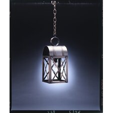 <strong>Northeast Lantern</strong> Adams Medium Base Sockets Culvert Top X-Bars 1 Light Hanging Lantern