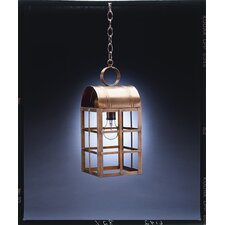 Adams Candelabra Sockets Culvert Top H-Bars 1 Light Hanging Lantern