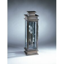 Empire 1 Candelabra Socket Plain Mirror Wall Lantern