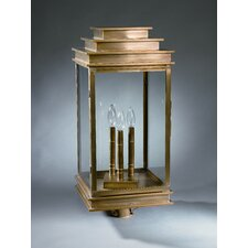 "Empire 3 Light 12"" Post Lantern"