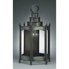 Fillmore 2 Candelabra Socket Large Hexagon Wall Lantern