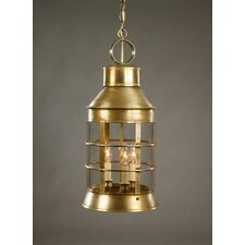 Nautical Candelabra Sockets 3 Light  Hanging Lantern
