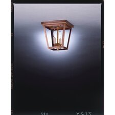 <strong>Northeast Lantern</strong> Williams Square Flush Mount