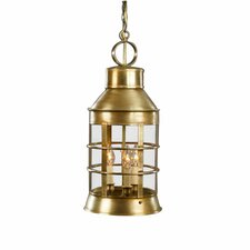 <strong>Northeast Lantern</strong> Nautical Medium Base Sockets 3 Light  Hanging Lantern