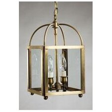 Chandelier 2 Light Hanging Lantern