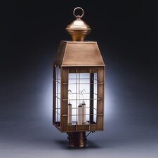 Woodcliffe 1 Light Chimney H-Rod Post Lantern