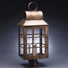 Lynn 3 Light Post Lantern