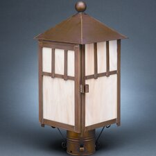 Lodge 1 Light Post Lantern