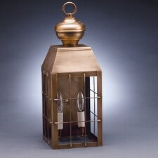 <strong>Northeast Lantern</strong> Woodcliffe 2 Candelabra Sockets H-Rod Wall Lantern