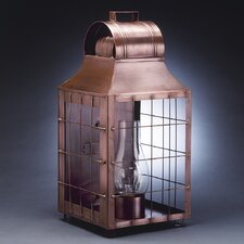 <strong>Northeast Lantern</strong> Livery 3 Candelabra Socket Culvert Top H-Rod Wall Lantern
