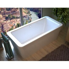 "Buena 67"" x 34"" Air Jetted Bathtub"