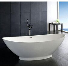 "Clare 73"" x 34"" Bathtub"