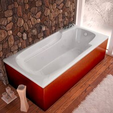 "Anguilla 72"" x 36"" Air and Whirlpool Jetted Bathtub"