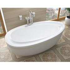 "Capricia 71"" x 38"" Air Jetted Bathtub"