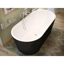"Little Key 63"" x 32"" Soaking Bathtub"