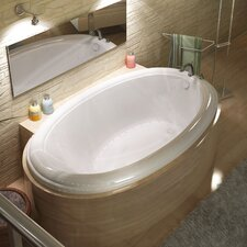 "Martinique 78"" x 44"" Air Jetted Bathtub"