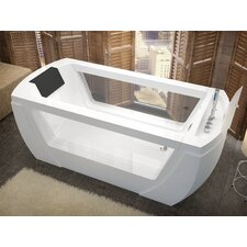 "Bella 69"" x 32"" Whirlpool and Air Tub"