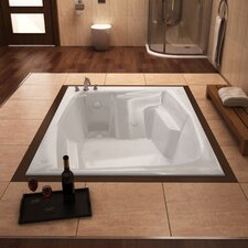 "St. Nevis 72"" x 54"" Air Jetted Bathtub"