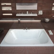 "Dominica 60"" x 40"" Soaking Bathtub"