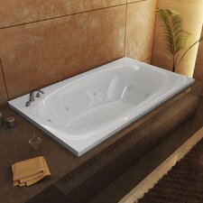 "St. Kitts Dream Suite 72"" x 42"" Air and Whirlpool Jetted Bathtub"
