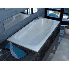 "Anguilla 60"" x 36"" Whirlpool Jetted Bathtub"