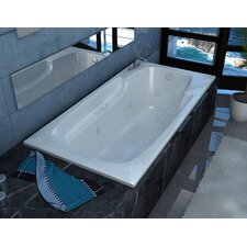 "Anguilla 72"" x 42"" Whirlpool Jetted Bathtub"