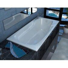 """Anguilla 72"""" x 42"""" Air Jetted Bathtub"""