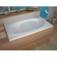 "St. Kitts 72"" x 42"" Whirlpool Jetted Bathtub"
