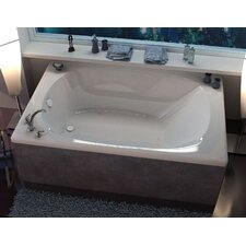 "St. Lucia 72"" x 48"" Air Jetted Bathtub"
