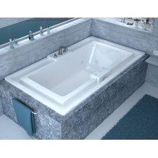 "Barbados 78"" x 46"" Whirlpool Jetted Bathtub"