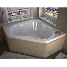 "Tobago 60"" x 60"" Air Jetted Bathtub"