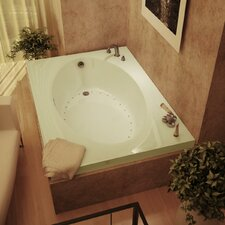 "Bermuda 59"" x 23"" Rectangular Air Tub"