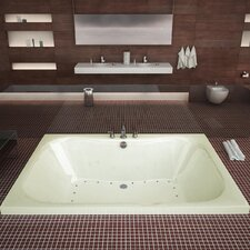 "Dominica 60"" x 23"" Rectangular Air Tub"