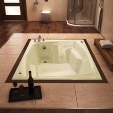 "St. Nevis 72"" x 54"" Rectangular Air Tub"