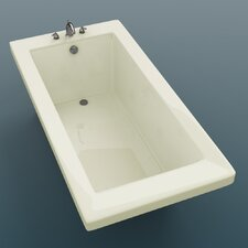 "<strong>Spa Escapes</strong> Guadeloupe 72"" x 23"" Rectangular Bathtub"