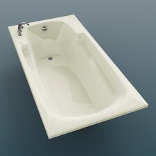"<strong>Spa Escapes</strong> Anguilla 72"" x 23"" Rectangular Bathtub"