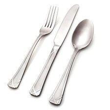 Hampton Silversmiths 20 Piece Evansville Flatware Set