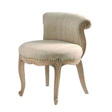 Spring Upholstered French Slipper Chair
