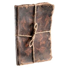 <strong>Barreveld International</strong> Leather Decorative Book with Endpapers Cover