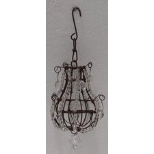 Metal Beaded Chandelier Ornament