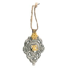 Metal Hanging Brooch Ornament