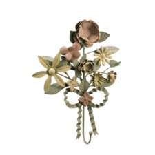 Iron Floral Wall Hook