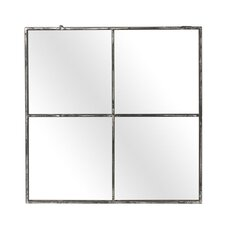 Fall Metal 4 Pane Mirror