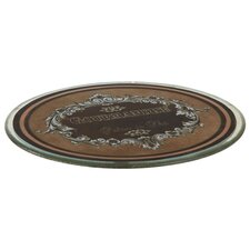 Fall Glass Decorative Plate
